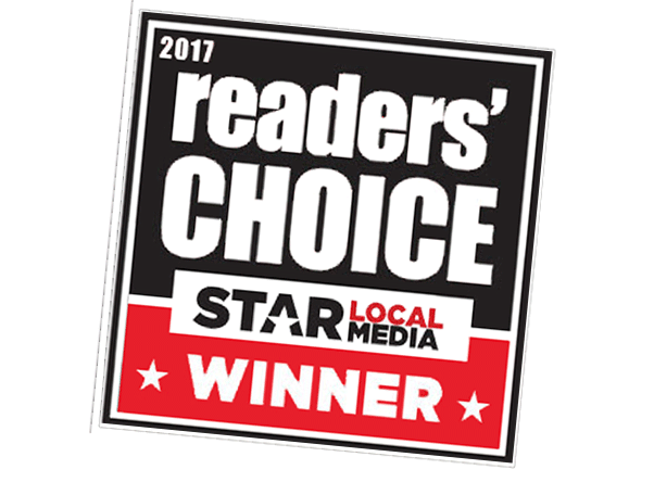 2017 readers choice star local media winner
