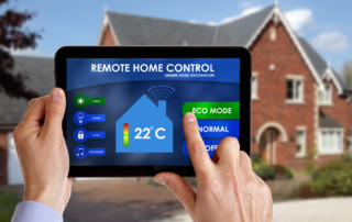 smart home control thermostat