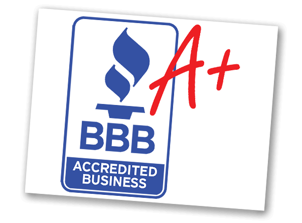 BBB Accredited Business emblem with