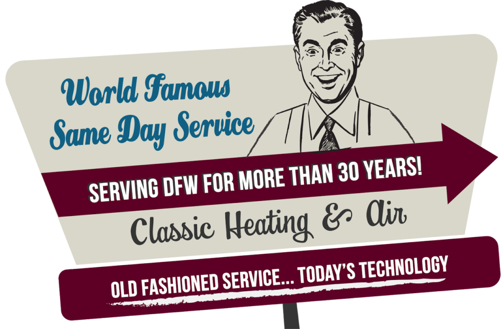 classic heating and air serving DFW for more than 30 years