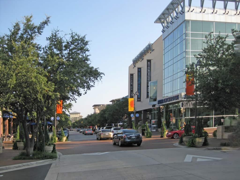 town center Plano Texas